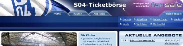Schalke04 Ticketbeurs